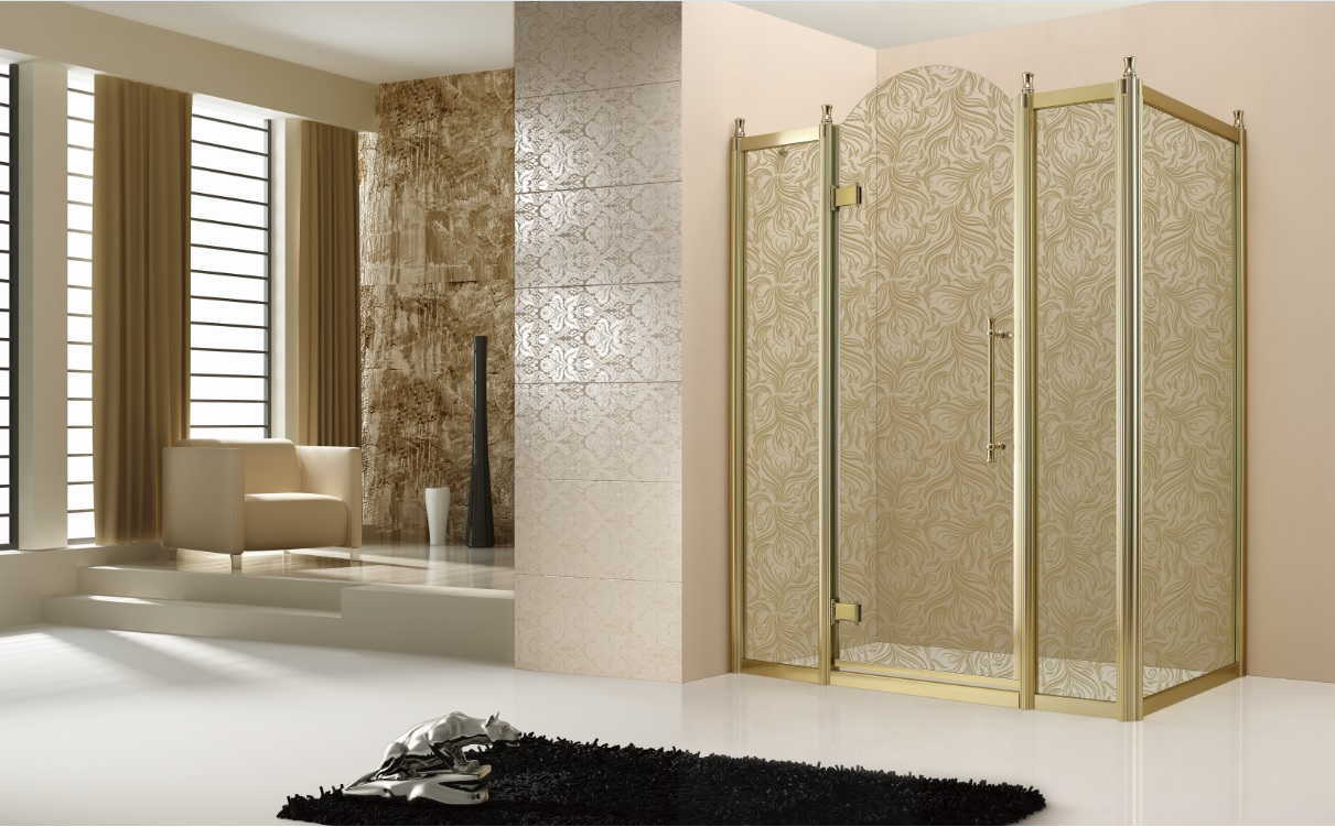 Cabine de douche luxe avec cadre | Fabrication et fourniture de ...