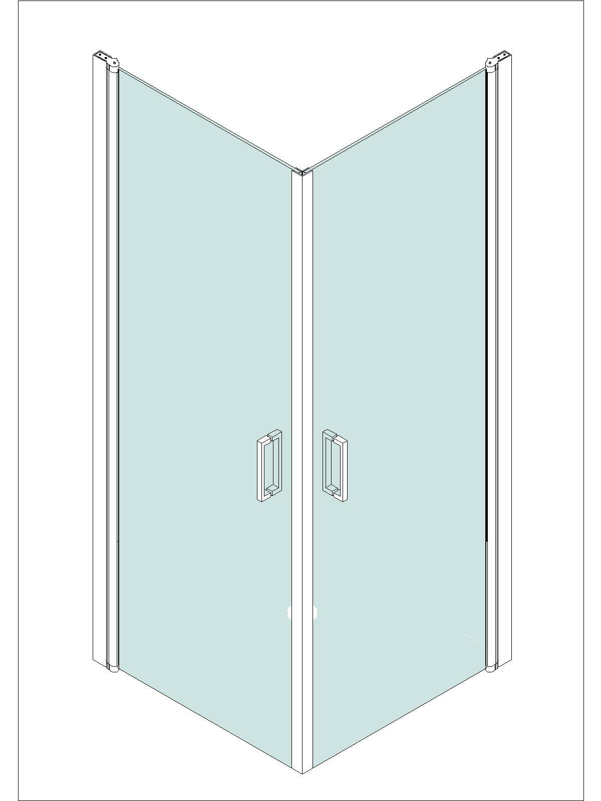 Senza cornice box doccia senza telaio di alta qualit - Box doccia senza silicone ...