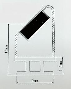 pvc dichtung magnetdichtung hochwertige pvc dichtung magnetdichtung aus taiwan china. Black Bedroom Furniture Sets. Home Design Ideas