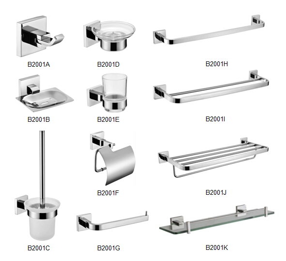 Stainless Steel Series Bathroom Accessories
