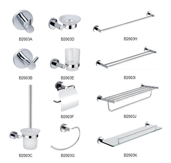 Choosing the right bathroom accessories for your new home for Bathroom fittings names
