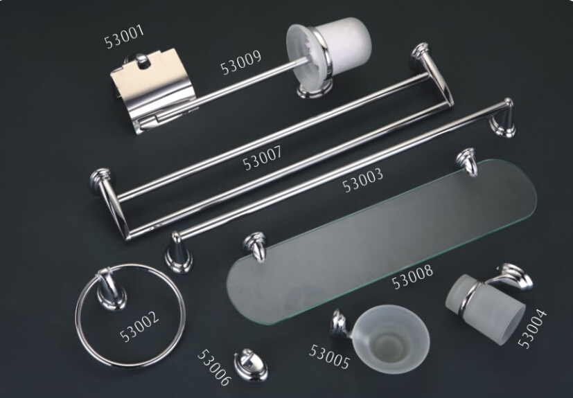 Zinc alloy bathroom accessories
