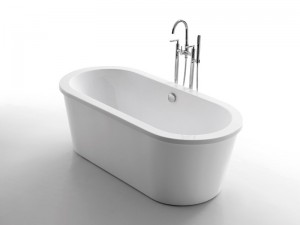 Free Standing Simple Bathtub