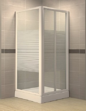 Framed shower enclosures