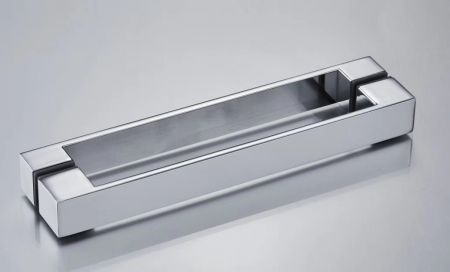 Zinc alloy shower handle with chromed finish to suit your shower enclosures