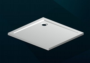 Square SMC Shower Tray