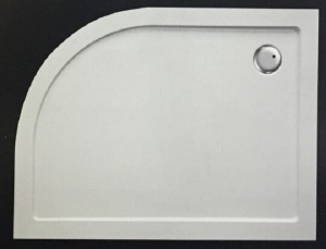 Offset Quadrant SMC shower tray